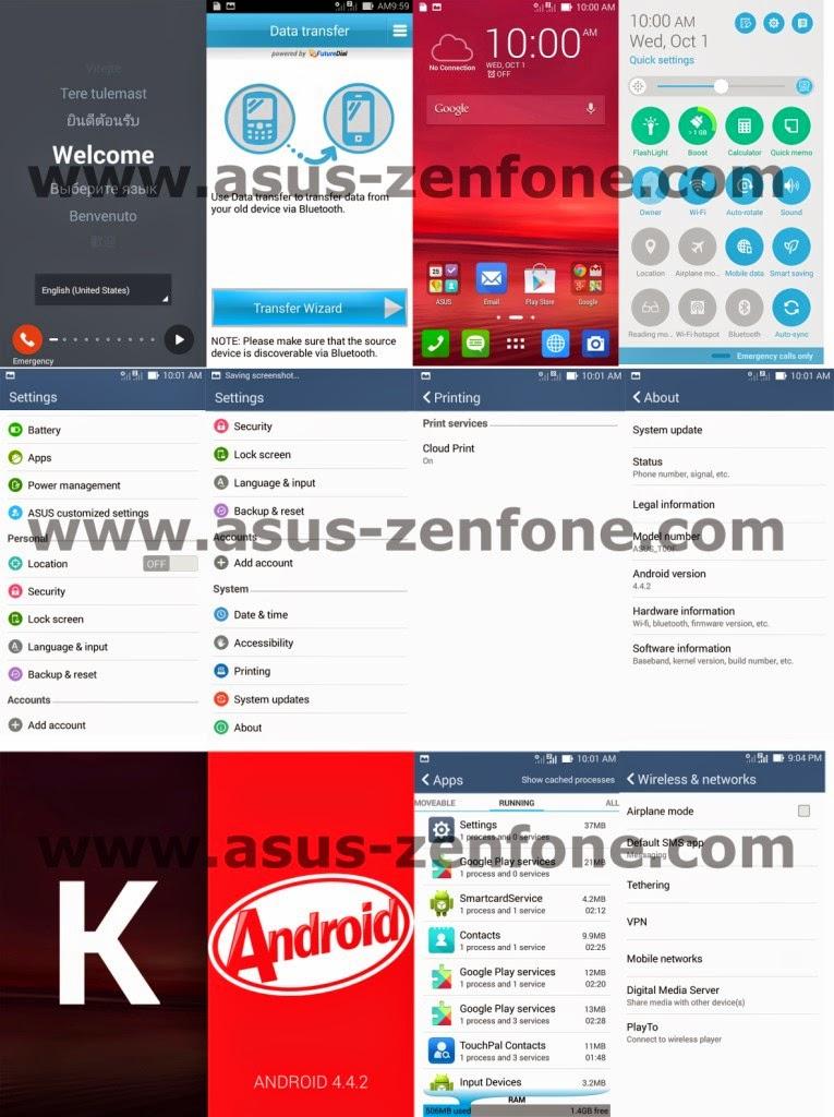 [Screenshot] Kitkat 4.4.2 Zenfone ~ Asus Zenfone Blog News ...