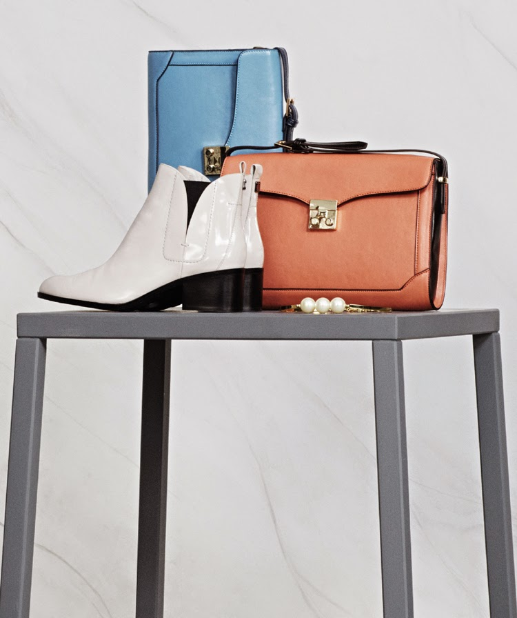 MARKS AND SPENCER AUTOGRAPH BOOT £69, LIMITED EDITION BAG BOTH £29.50, LIMITED EDITION NECKLACE £15