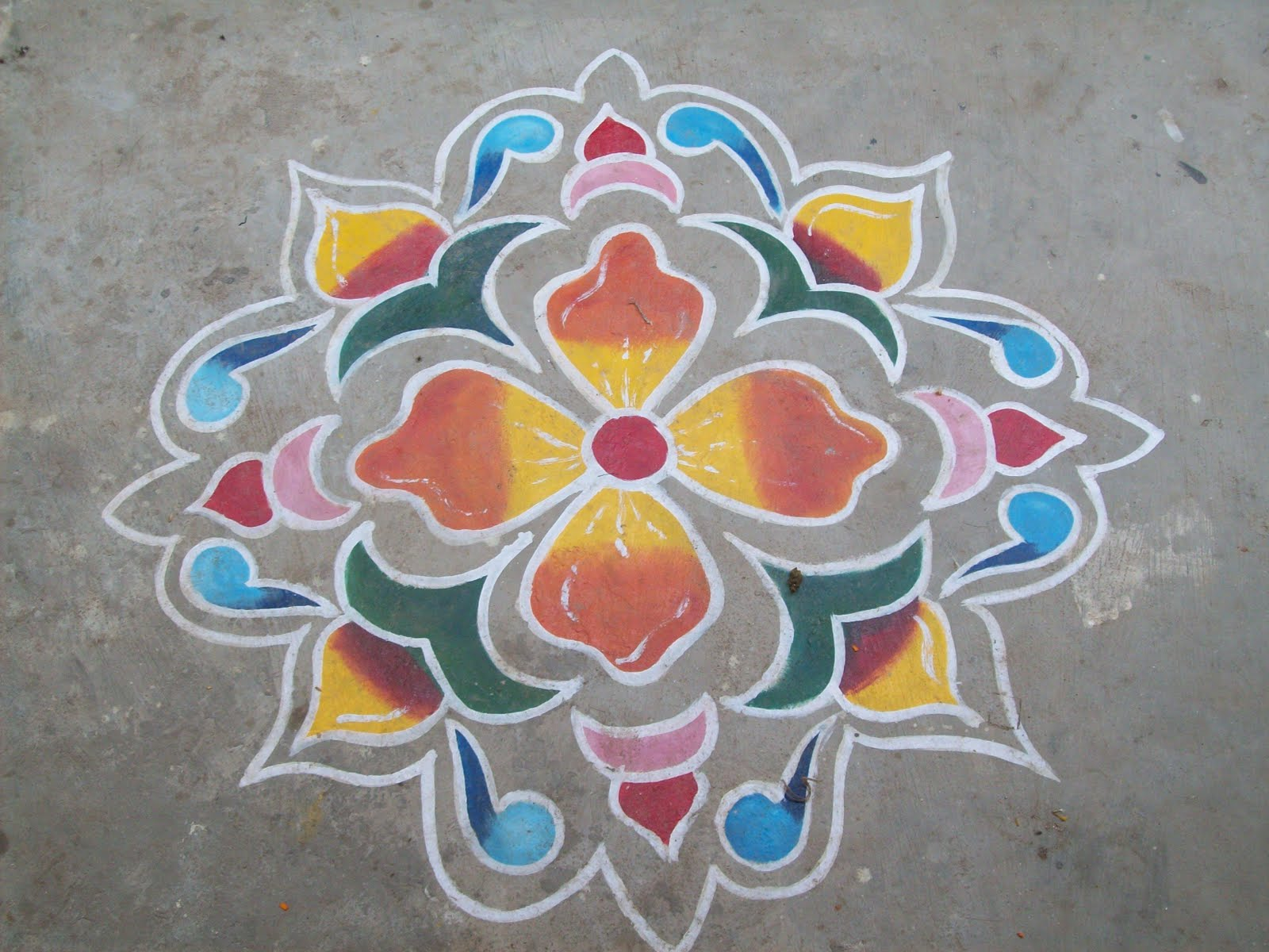 sankranthi muggulu designs without dots.