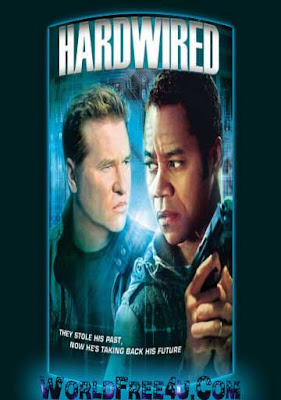 Poster Of Hardwired (2009) In Hindi English Dual Audio 300MB Compressed Small Size Pc Movie Free Download Only At worldfree4u.com