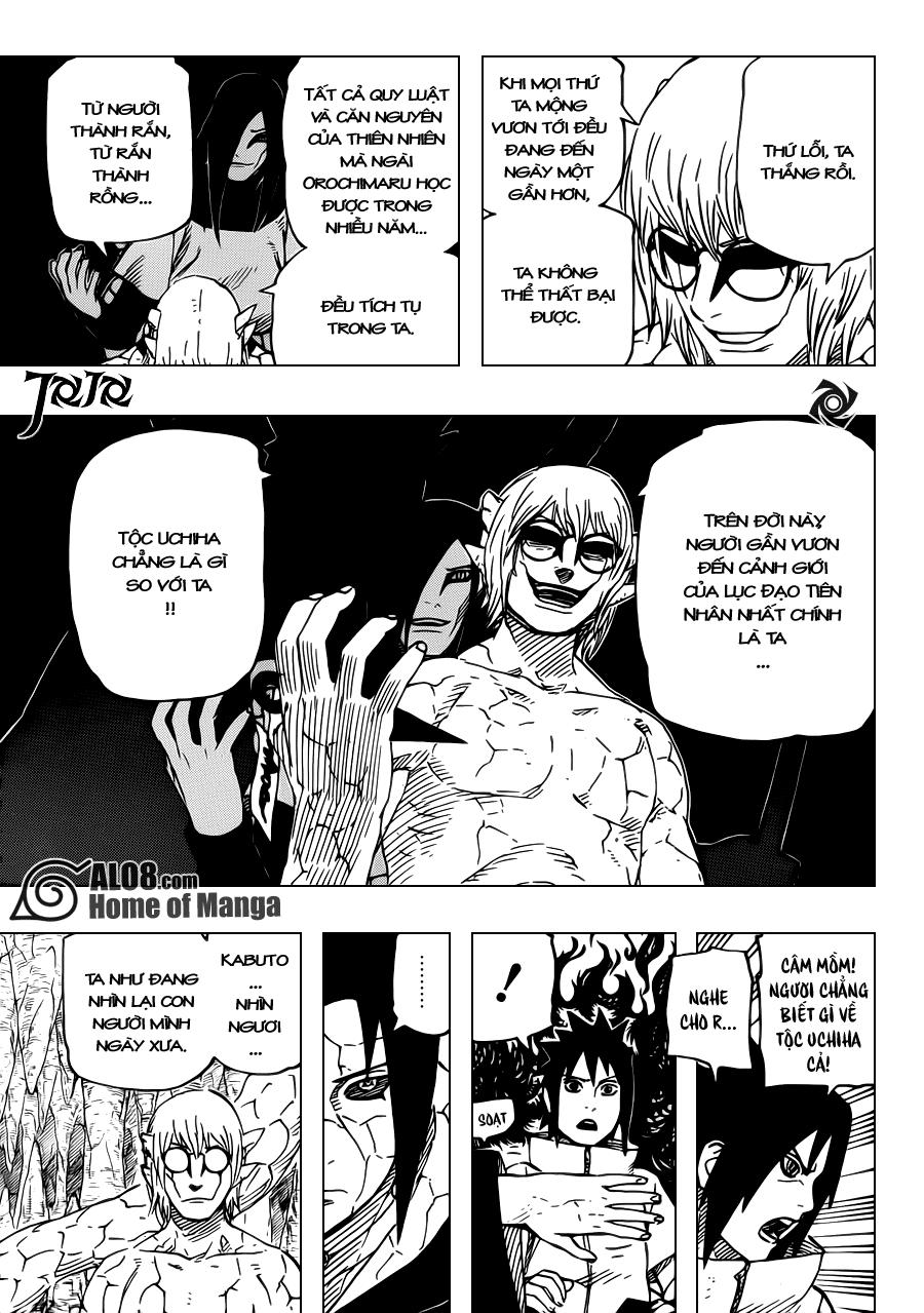 Naruto chap 582 Trang 5 - Mangak.info