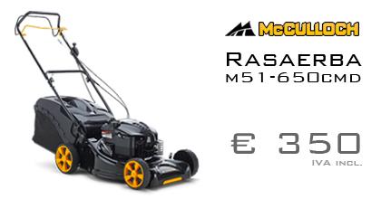 Ferramenta Rossi - McCulloch Ads - Rasaerba