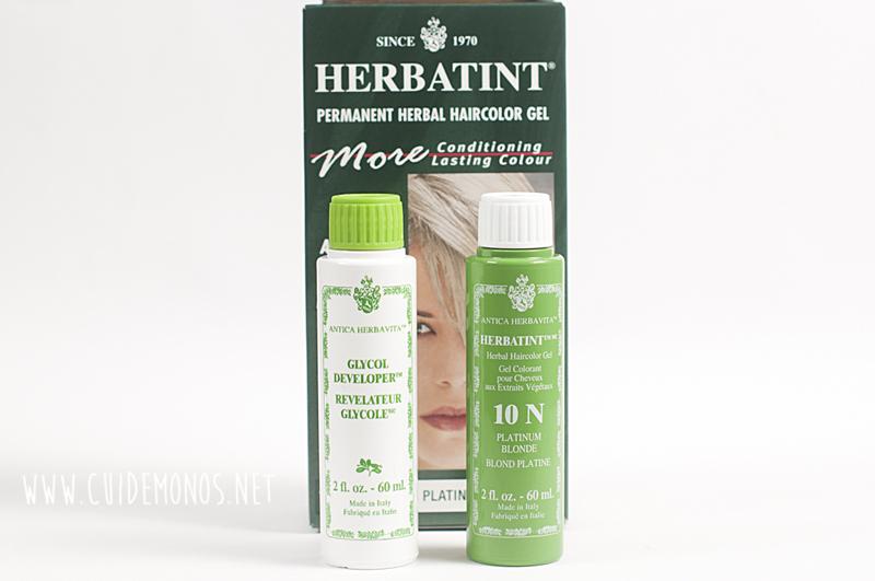 haul Iherb herbatint 10N