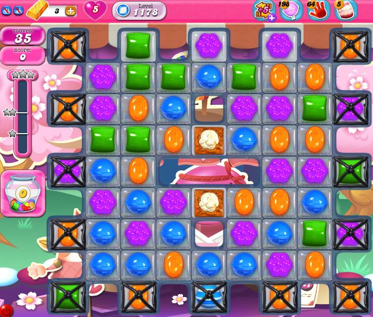Candy Crush Saga 1178