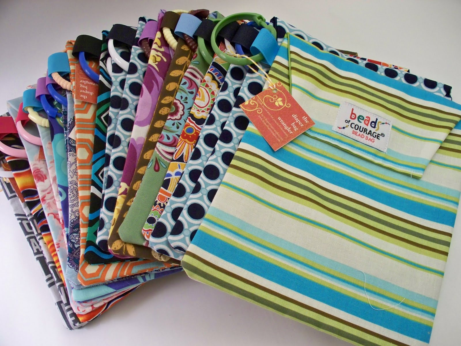 The Diaper Bag Wrangler: Paying It Forward - Bags for Beads Of Courage