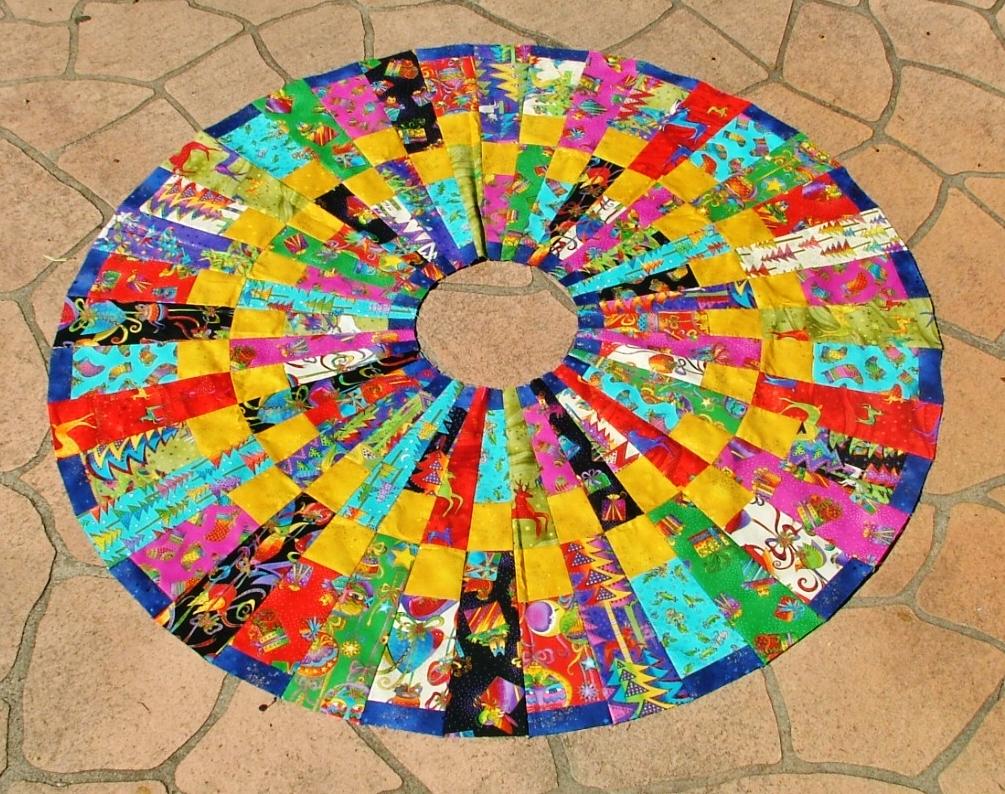 Circle quilt with Wedge ruler