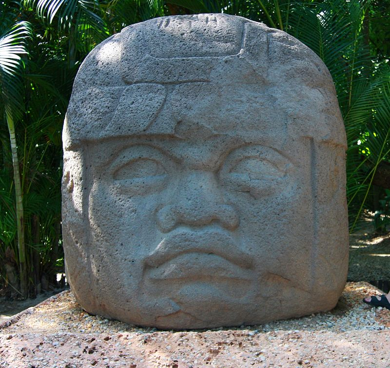Ancient history mesoamerica the olmecs olmec colossal head from la venta publicscrutiny Images