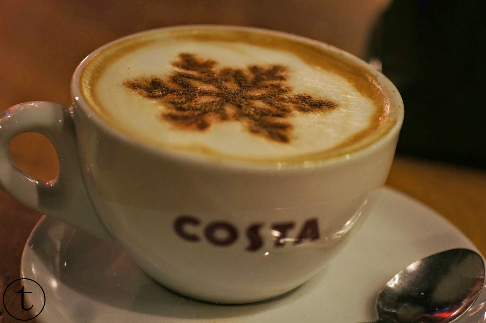 coffee time at Costa