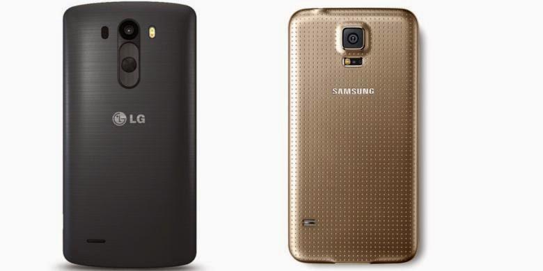 LG G3 vs. Galaxy S5 Bagusan Mana?