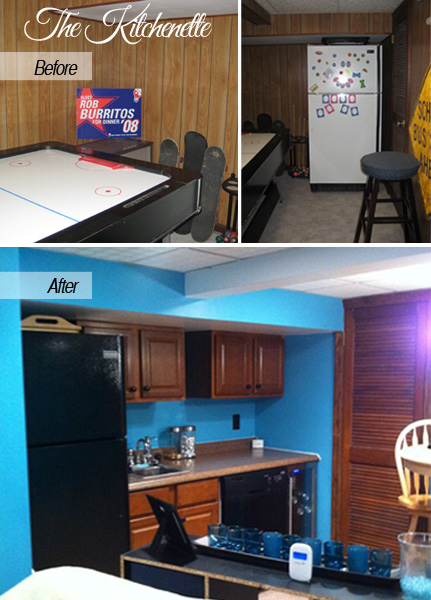 Before & After Envy, The Kitchenette | Tried & Twisted