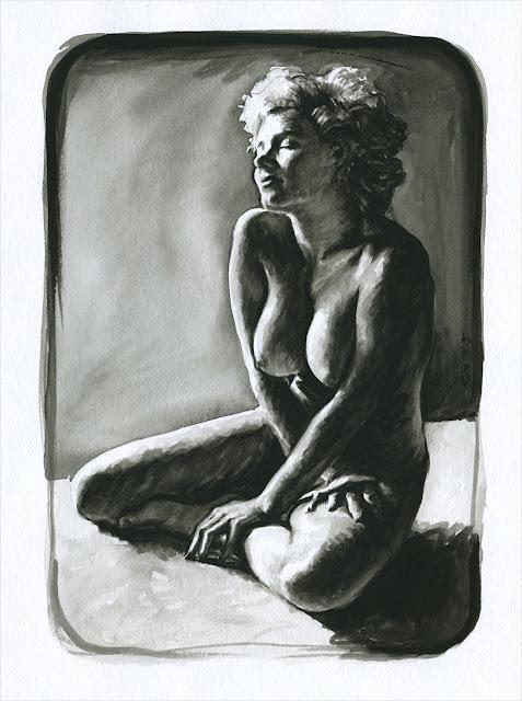 René Bui - Aquarelle #150158