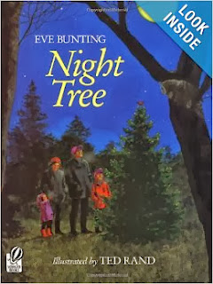 http://www.amazon.com/Night-Tree-Eve-Bunting/dp/0152001212/ref=sr_1_1?ie=UTF8&qid=1387319253&sr=8-1&keywords=night+tree