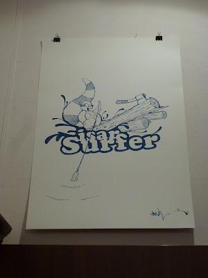 Steve, ISarSurfer, Streetart-Ausstellung
