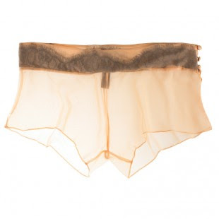 Trend-Spotting, Tap Pants, fashion, fashion trends, lingerie, Between the Sheets Sheer Romance Chiffon and Lace Tap Pant