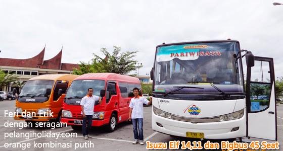 Rental Isuzu Elf MiniBus BigBus Padang