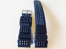 SEIKO WAFFLE RUBBER STRAP 20mm