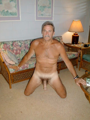 hairy older men - big mature daddy