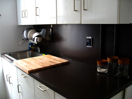 how to change a countertop in a kitchen