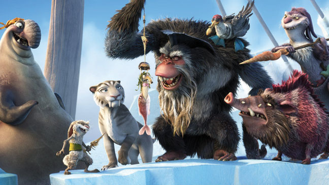 ice age continental drift baddies