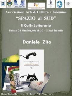 LA SOLITUDINE DI UN RIPORTO. DANIELE ZITO PRESENTA IL SUO LIBRO A SPAZIO AL SUD