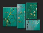 Amuletos y rituales magicos cuadros decorativos feng shui for Cuadros feng shui dormitorio