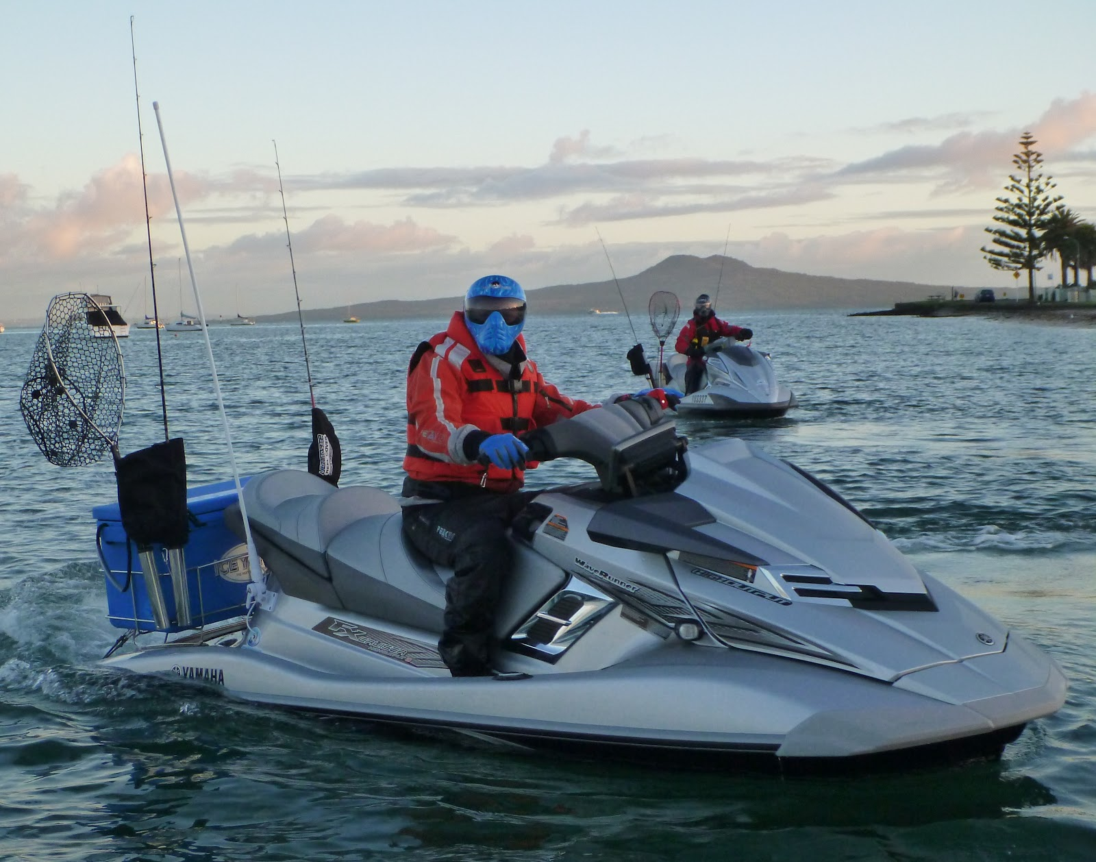 Jet ski fishing blog report 084 living the dream with for Best jet ski for fishing