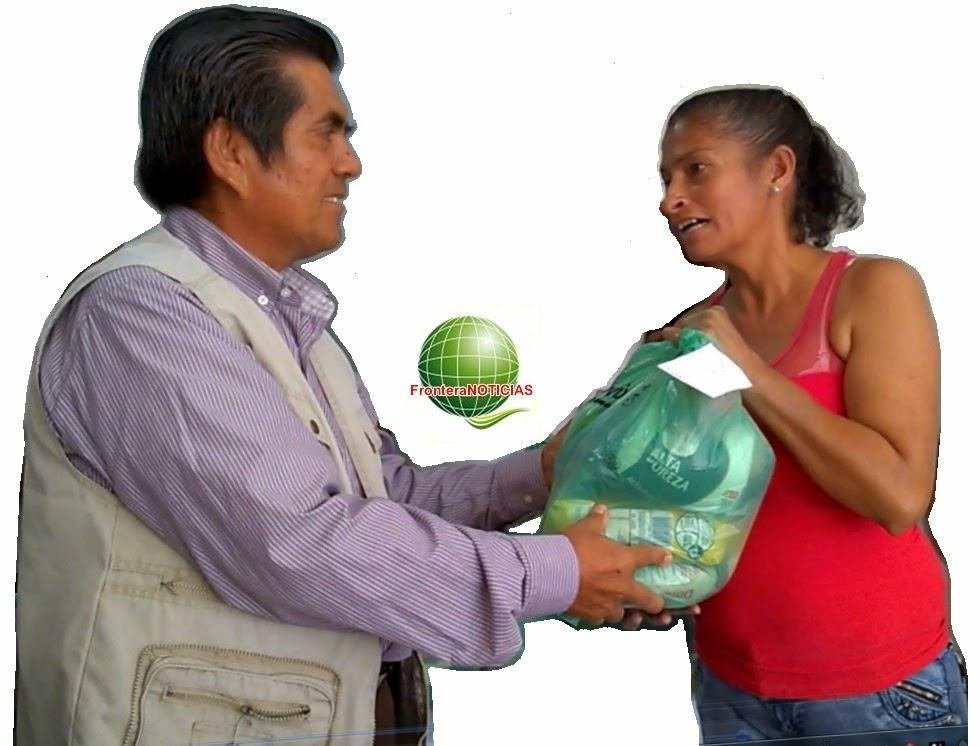 Dona un mercado y productos alimenticios no perecederos para familias muy pobres de Juan Atalaya en Cúcuta-Colombia: La campaña que emprendió Félix Contreras, director de FronteraNOTICIAS, residente en el barrio Chapinero de Cúcuta (Ecoparque Piloto Divino Niño) Celular: 312-3598024