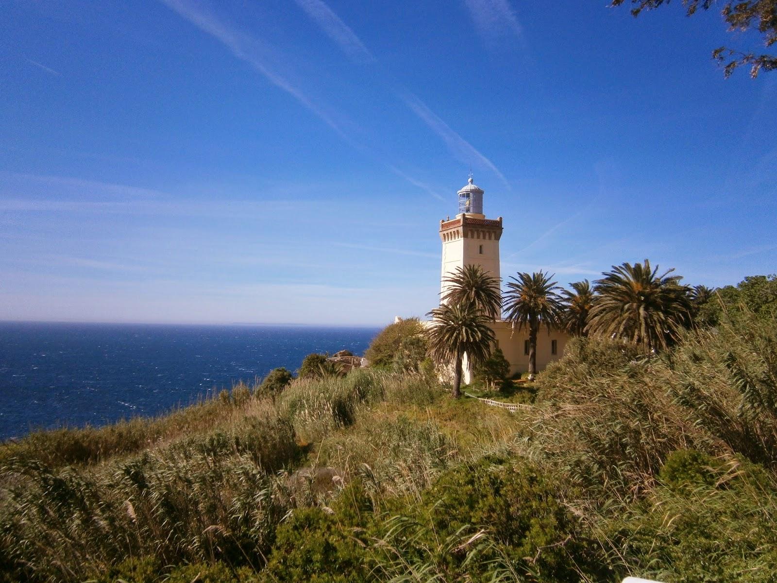Vue panoramique Cap Spartel Tanger-Tetouan