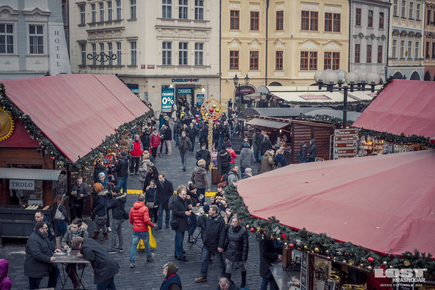 Christmas Fair in Prague