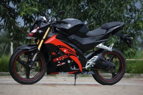 Gambar Modifikasi Motor Yamaha Vixion New Terbaru Hitam