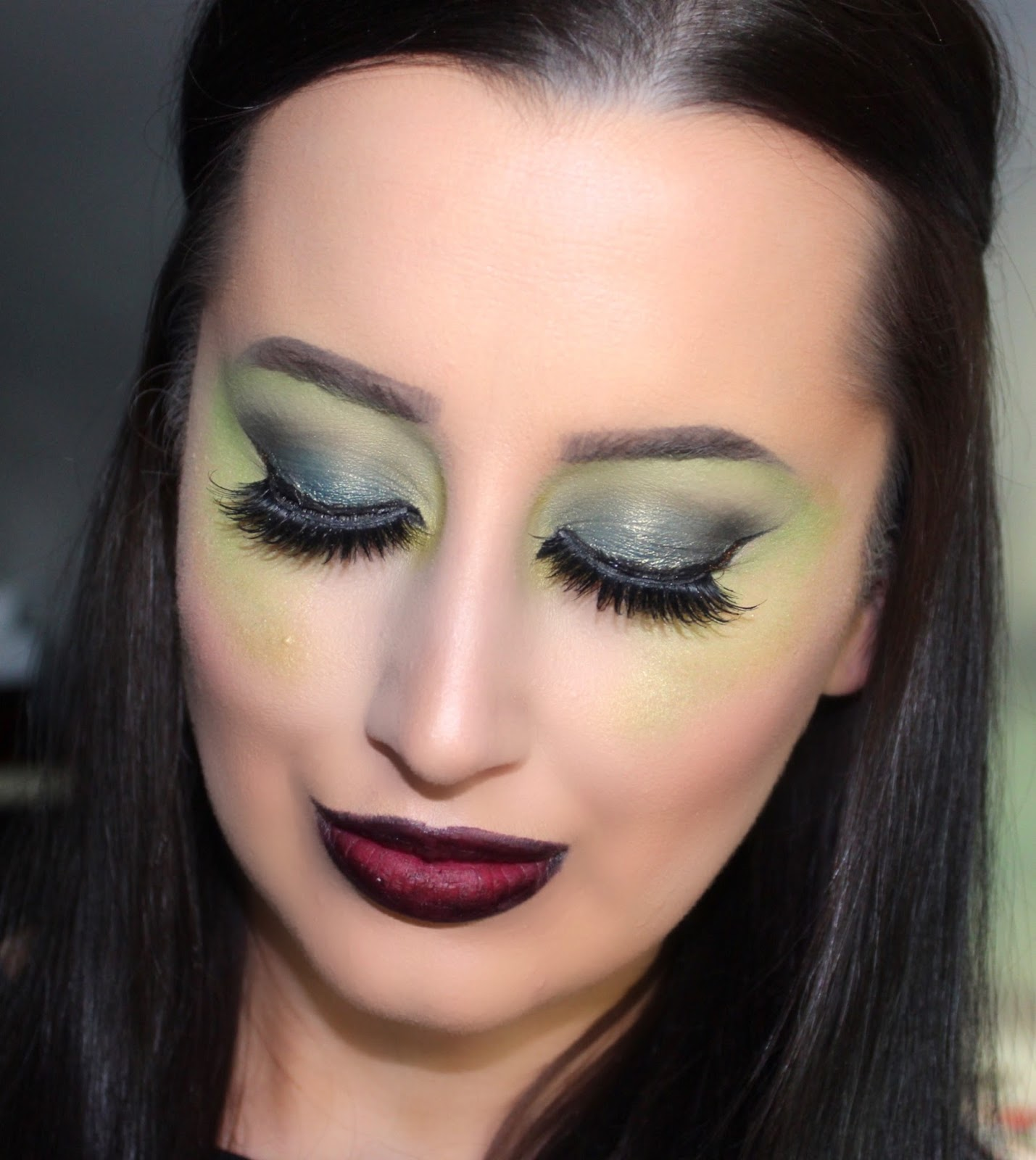 wicked witch halloween makeup tutorial ashley riley