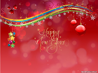 Free Download Happy New Year Card Wallpaper