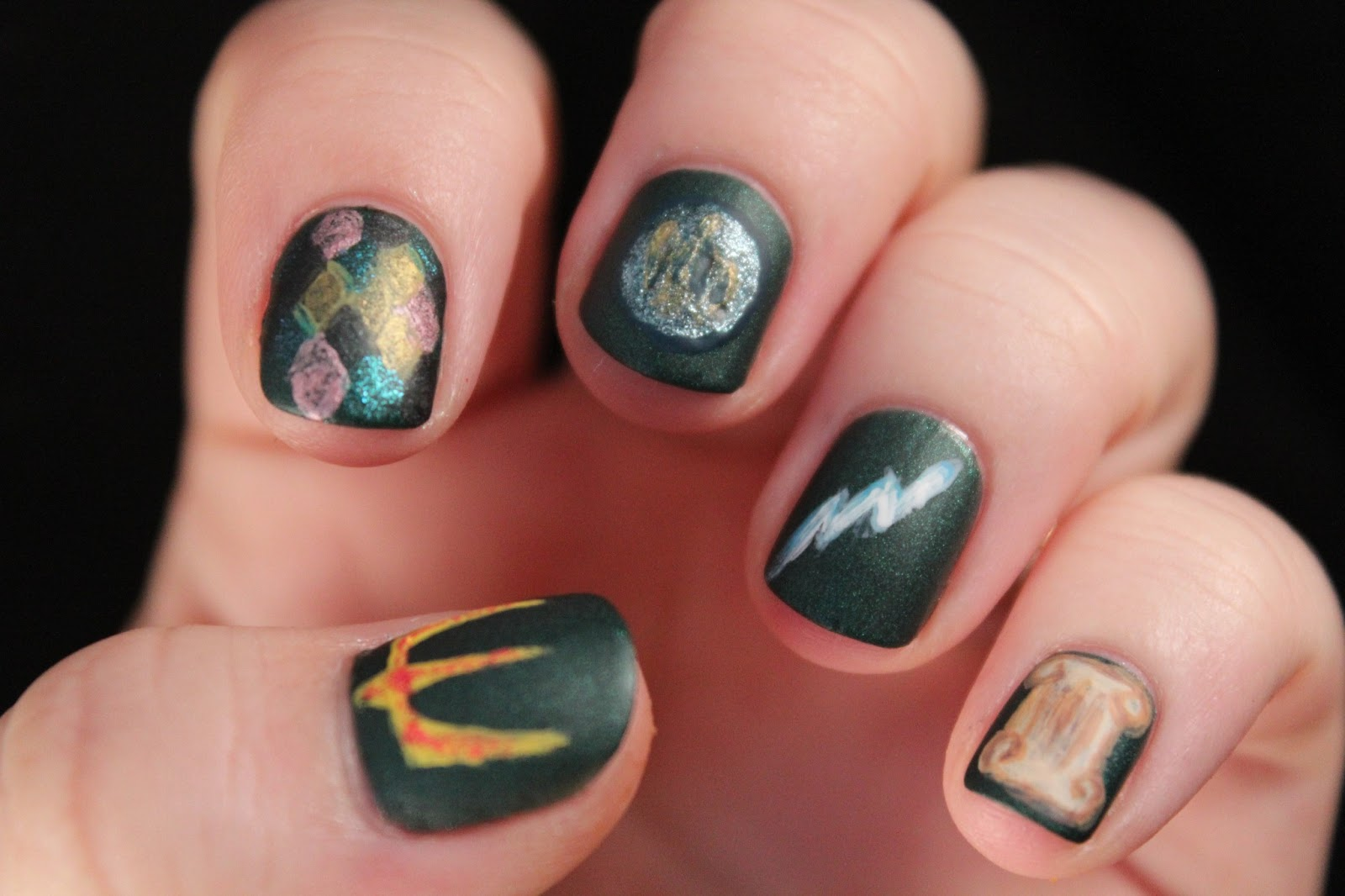 Glimpses of the Moon: Movie and a Mani: Percy Jackson & The ...