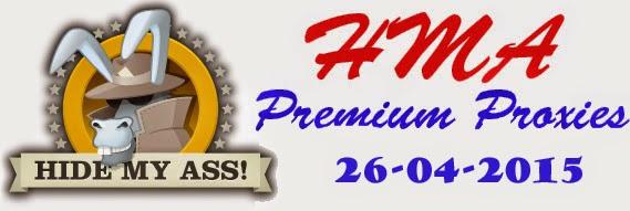 HMA Premium Proxies Update 26 April 2015