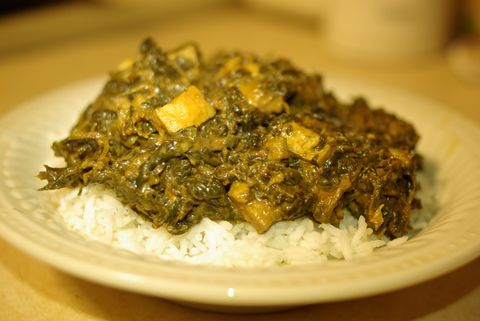 kevin champion: Vegan Saag Paneer Recipe
