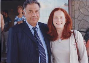 Dr. Isaac Goiz Duran y Helena Guerrero