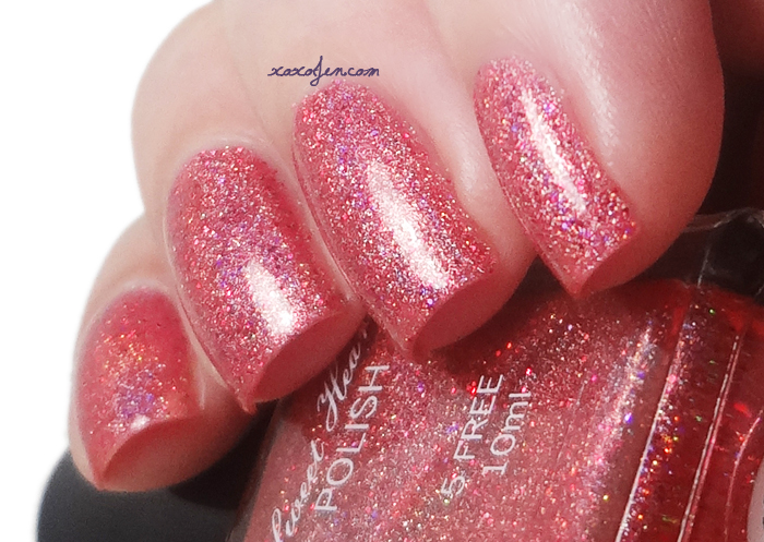 xoxoJen's swatch of Sweet Heart Polish Off With Her Head!