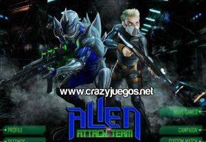 Jugar Alien Attack Team