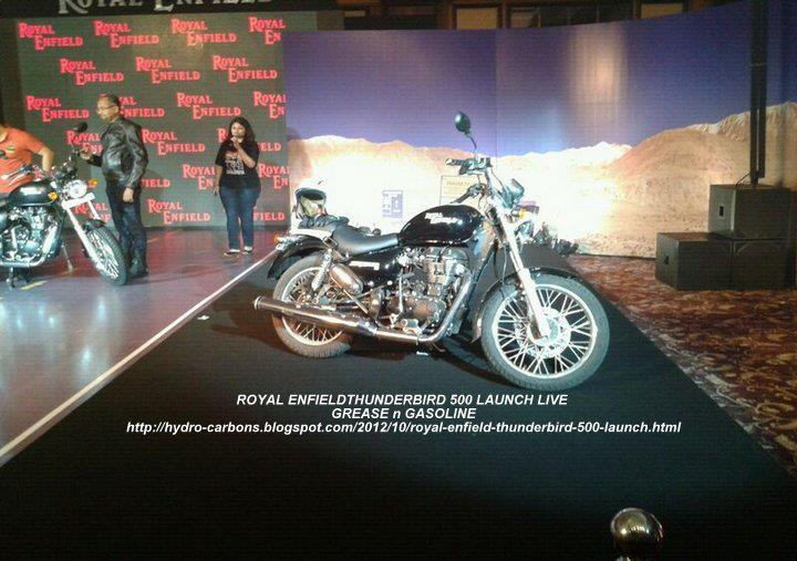 Royal Enfield is all set to launch its new bike Thunderbird 500 at an event in Mumbai on Thursday. The countdown for the launch of this much anticipated bike has already begun.As per Indian standard time, Thunderbird 500 will be launched at 3pm.Royal Enfield had unveiled its 500 cc bike Thunderbird 500 during the Delhi Auto Expo this year.