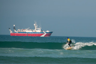 Surfing Watergate Bay Cornwall