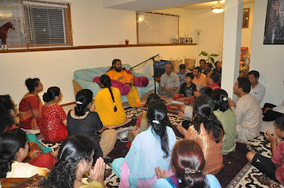Devotees of Kripaluji Maharaj in Minnesota