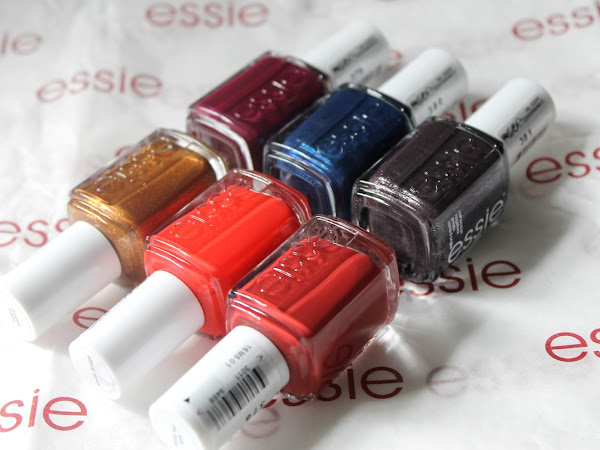 Essie Taking Center Stage Autumn Collection 2015