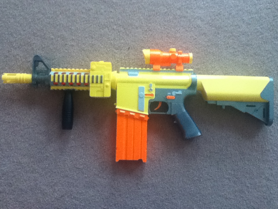 Outback Nerf: Zecong Toys Photon Storm Review