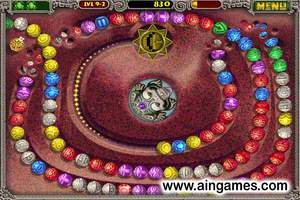 Zuma Deluxe Game-Screenshot-2