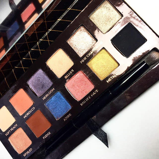 Shadow Couture World Traveler Palette, swatches, abh palette, swatches