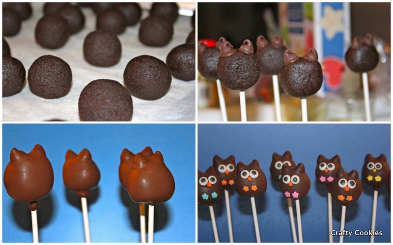 Crafty Cookies Whoo Owl Cake Pops and Some Tips
