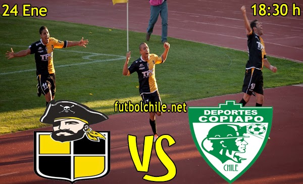 Coquimbo Unido vs Deportes Copiapó - Clausura Primera B - 18:30 h - 24/01/2015