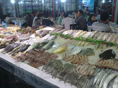 Рыбные рынки - рестораны, Китай