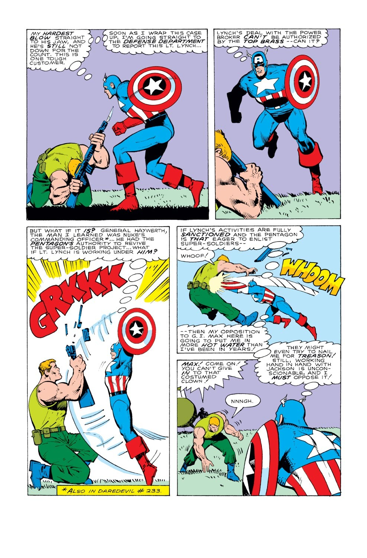 Captain America (1968) Issue #331 #260 - English 21
