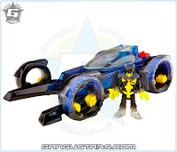 Imaginext DC Super Friends Transforming Batmobile Fisher-Price dc comics Batman